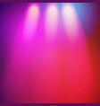 glowing nightclub lights spotlights background vector image