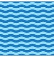 Seamless simple blue wave pattern vector image