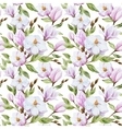Magnolia pattern vector image