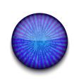 Grunge blue app icon vector image