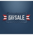 Independence Day Sale patriotic Tag vector image