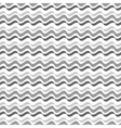 Wavy line gray seamless pattern vector image