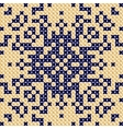 Cross stitch pattern Antique Scandinavian style vector image