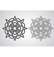 Celtic Design Pattern vector image vector image