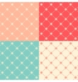 Romantic Seamless Pattern Background vector image
