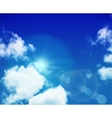 Sky layered vector image