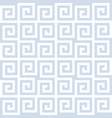 seamless repeating ancient greek pattern vector image