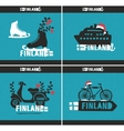 Set of creative labels vector image