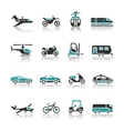 Set of transport icons - Two vector image