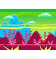 Game Background Set vector image