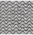 Hand drawn monochrome pattern vector image