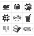 icon thai food vector image