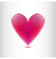 heart isolated vector image