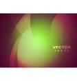 Bright abstract wavy design vector image vector image
