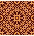 Bold intricate arabic seamless pattern vector image