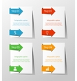 Business infographic template vector image