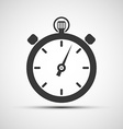 icons of sports stopwatch vector image
