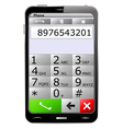smartphone vector image vector image