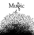 Music Typographic vector image vector image