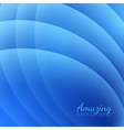 Abstract Smooth Waves Background vector image