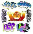 graffiti design vector image