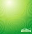 Green waves Grid vector image