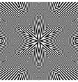 Black and White Background Abstract vector image vector image