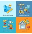 Building concepts Engineering construction vector image