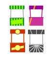 Street food kiosk vector image