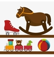 cute toys design vector image