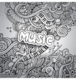 Music Sketchy Notebook Doodles vector image