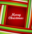 Strips Christmas background and frame vector image