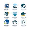 sport logo set vector image