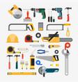 set of tools for repair vector image