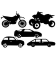 Of A Different Automobile vector image
