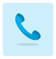 flat icon phone vector image