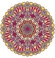 Tribal color element for design Mandala isolated vector image