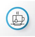 disposable tea icon symbol premium quality vector image
