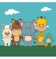 Pets and animals cartoons vector image