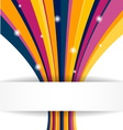 Stripe background for your business presentations vector image vector image