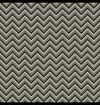 monochrome zigzag geometric seamless pattern vector image