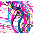 Abstract background of crossing ribbons vector image