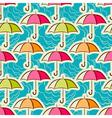 Umbrellas vector image