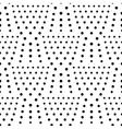Seamless dot pattern polka background vector image