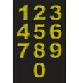 Alphabet vector image vector image