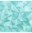 Ice Blue polygonal background vector image vector image
