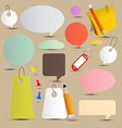 Paper Labels - Tags Set vector image vector image