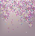 Confetti New Years celebration vector image