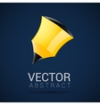 pencil icon geometric design in vector image