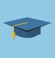 academic cap vector image